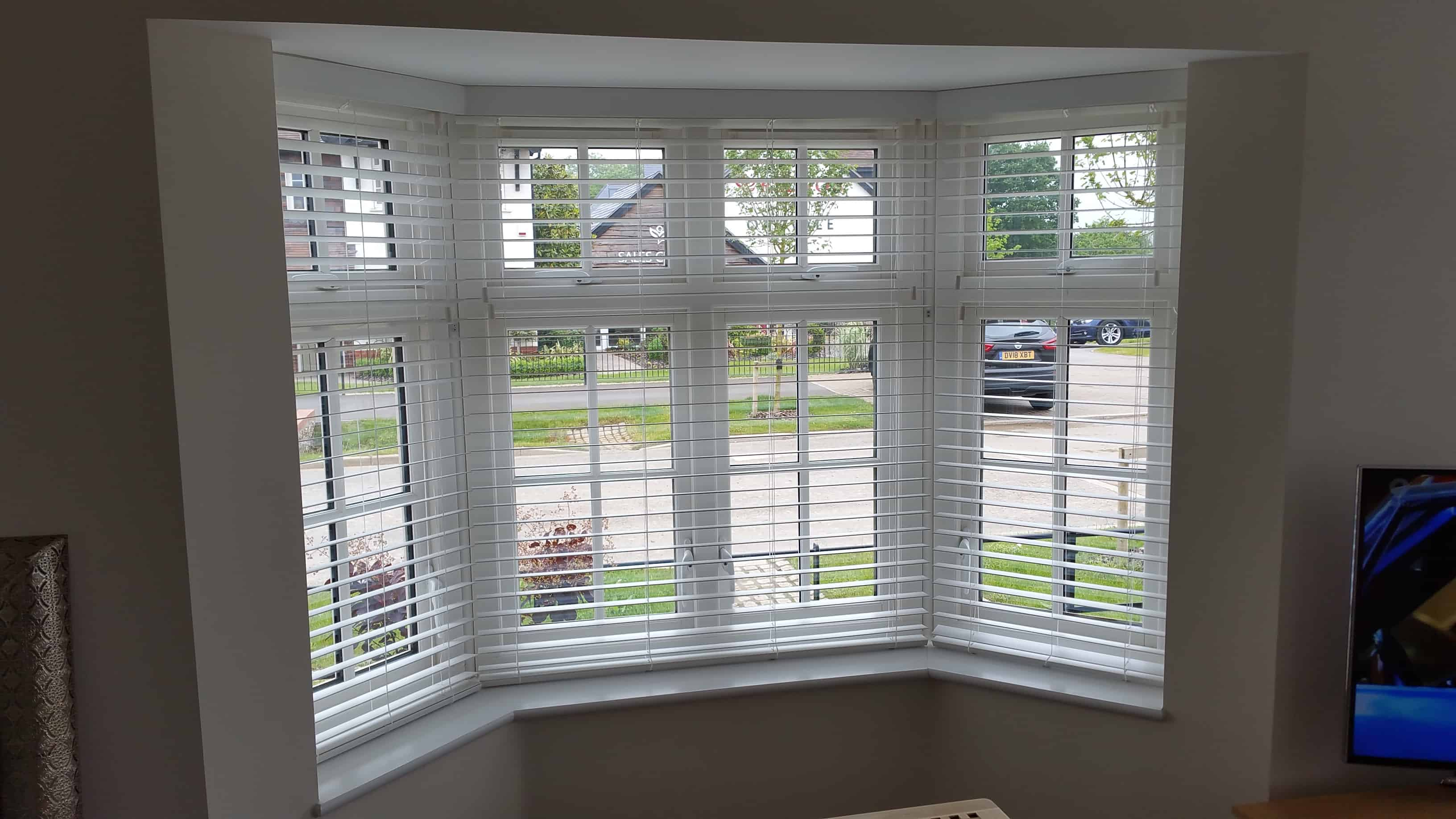 Bay window blinds in Waterlooville