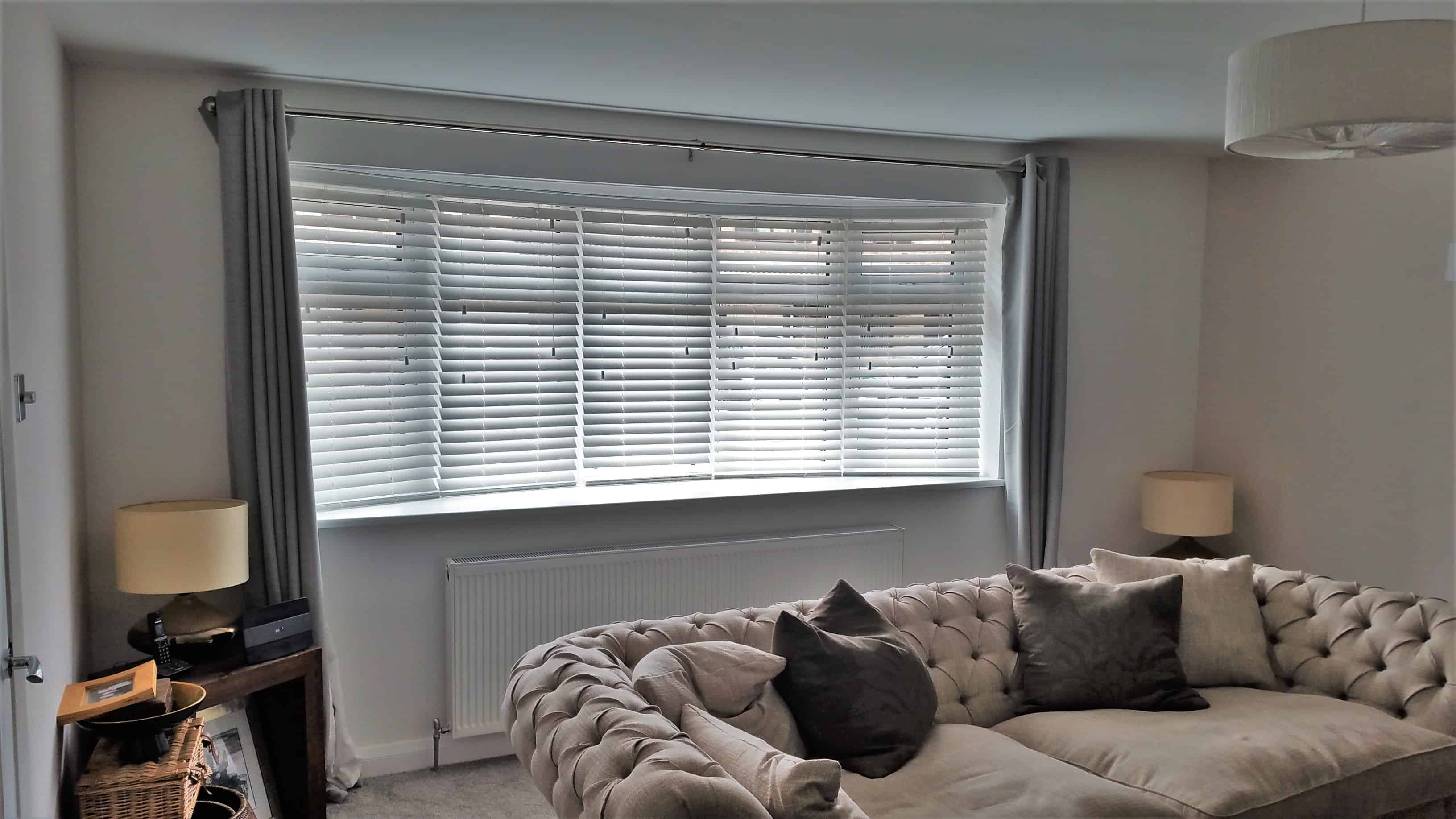 Bay Window Venetian Blinds Stubbington