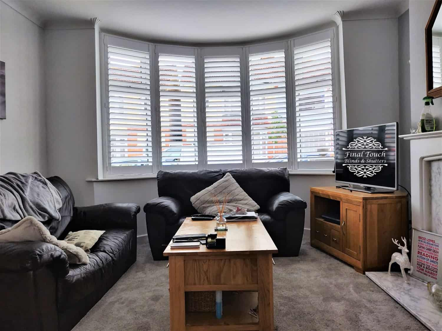 Final Touch Blinds Shutters Bay Window Shutters Fareham
