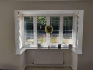 Bay Window Venetian Blinds Southampton
