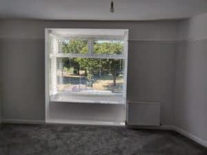 Venetian blinds bay window fareham southampton