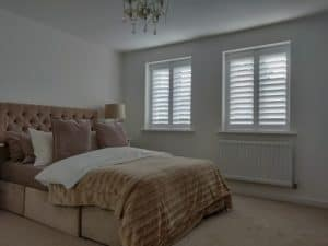 Bedroom Plantation Shutters Bishopstoke Eastleigh