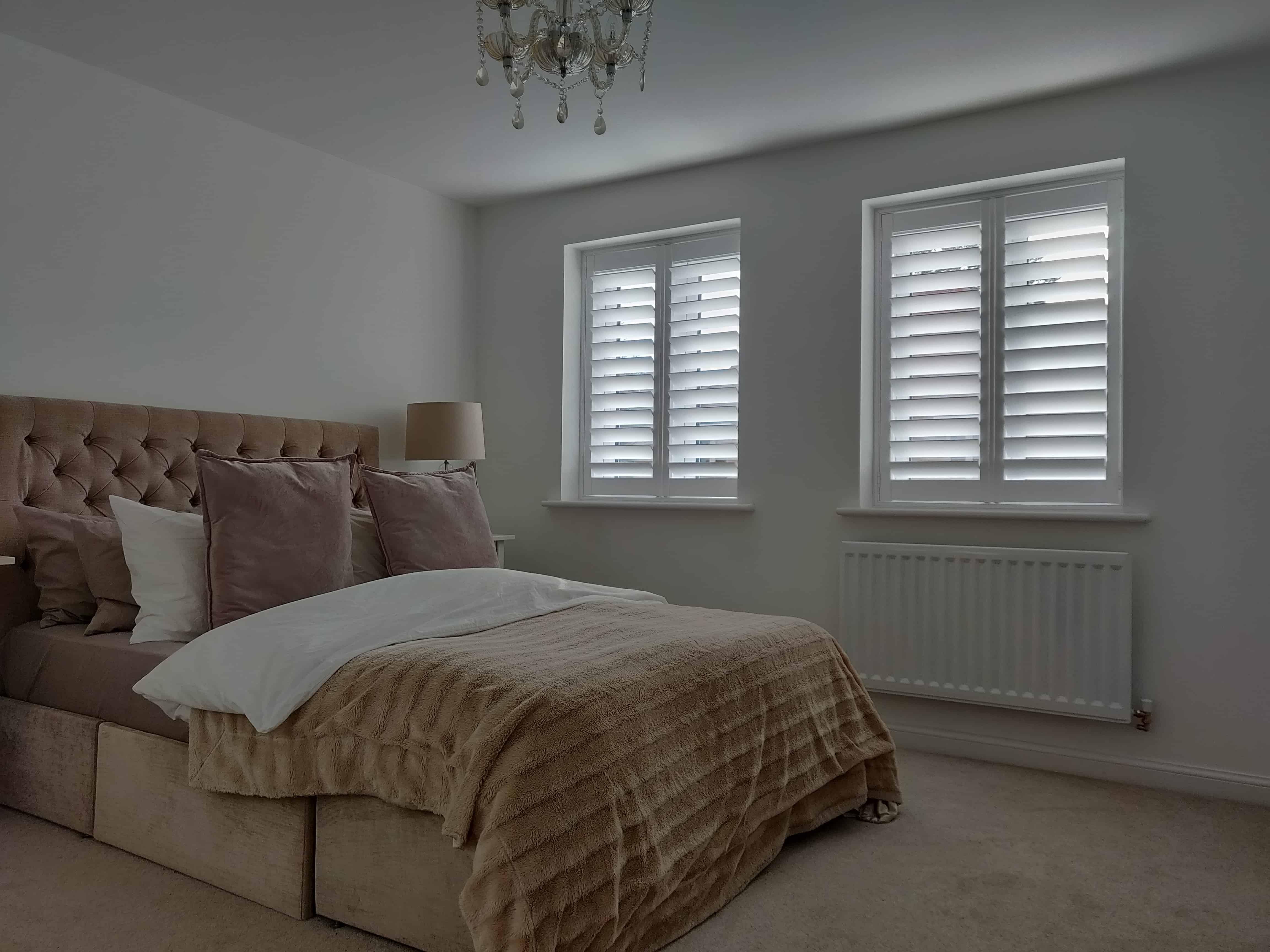 Bedroom Plantation Shutters Bishopstoke Eastleigh