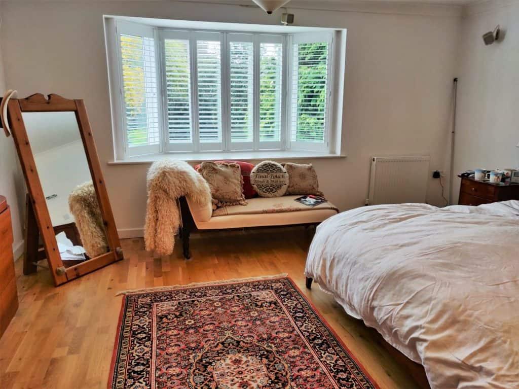 Bay window shutters & blinds warsash whiteley southampton