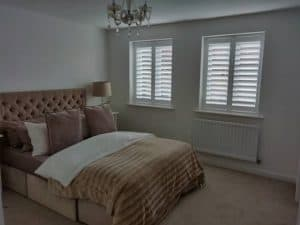 Bay window plantation shutters bishopstoke eastleigh