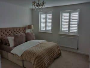 Bay window plantation shutters bishopstoke eastleigh