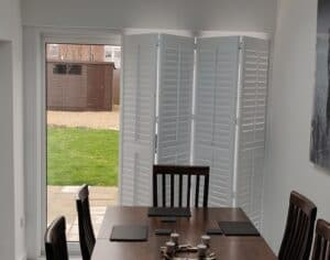 Folding Track Shutters Patio Doors