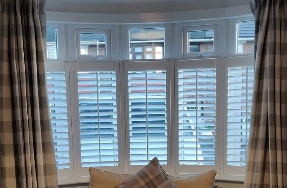 Cafe Style Plantation Shutters Waterlooville Fareham